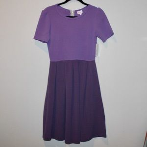 💋NEW LISTING💋 LuLaRoe Purple Amelia Dress